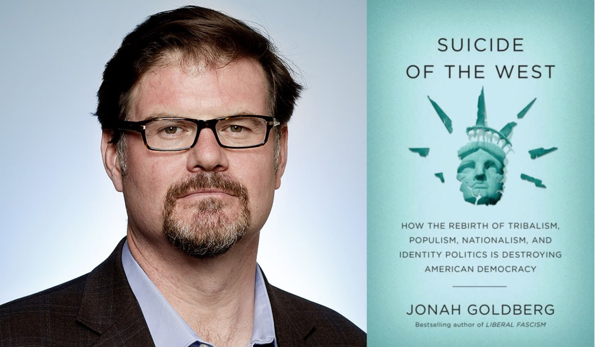 📖 22% done with Suicide of the West by Jonah Goldberg