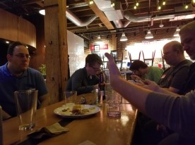 social meetup at Pine Street Market
