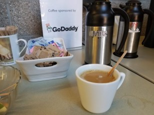Thanks GoDaddy for sponsoring the caffeine to keep us all going.