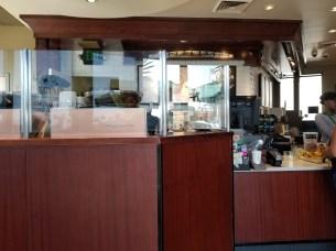 Interior of Starbucks on Huntington in San Marino