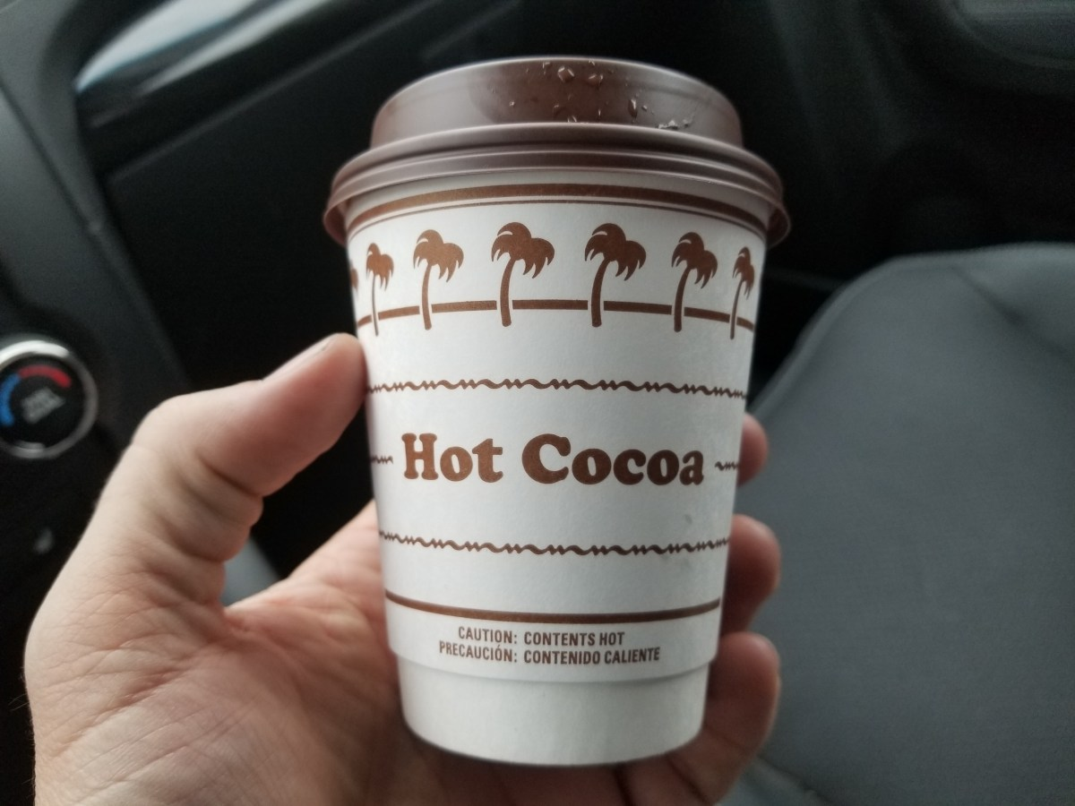 Ordering In-N-Out by Chapter and Verse: Hot Cocoa Edition