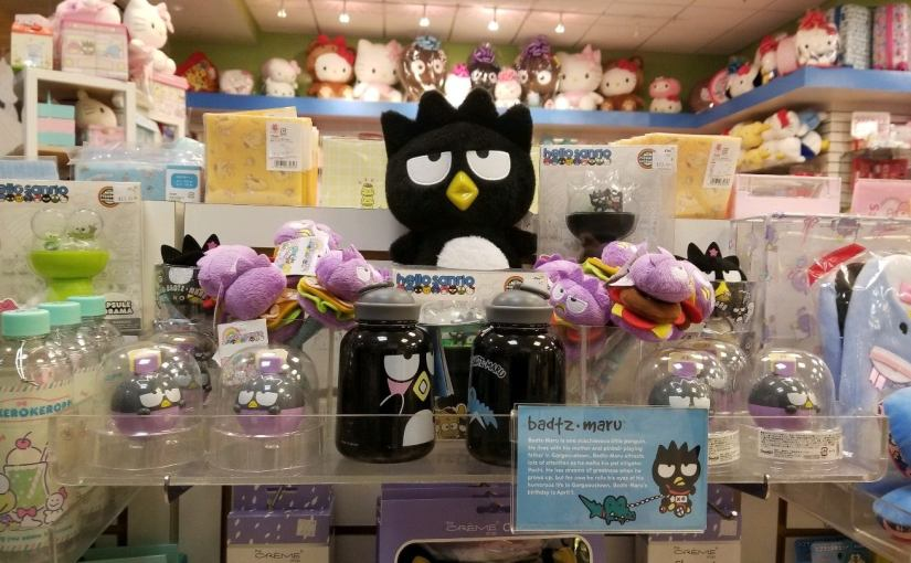 Badtz-Maru products at Sanrio Store