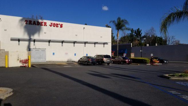Exterior of Trader Joe's