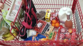 My grocery haul from Trader Joe's