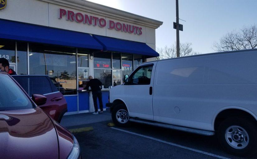 Pronto Donuts walk up window