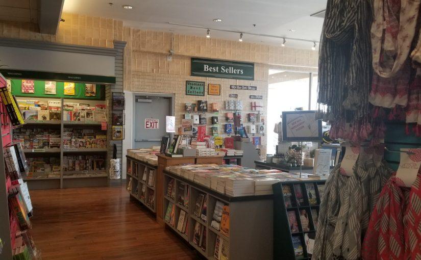 View across Vroman's bookstore