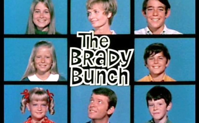 Brady Bunch 3x3 Title Card