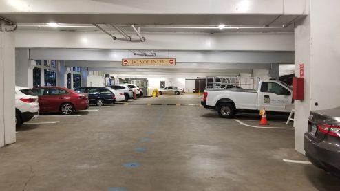 Ground floor inside the Schoolhouse Garage