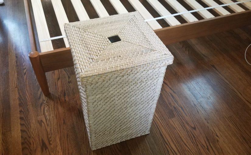 West elm laundry basket