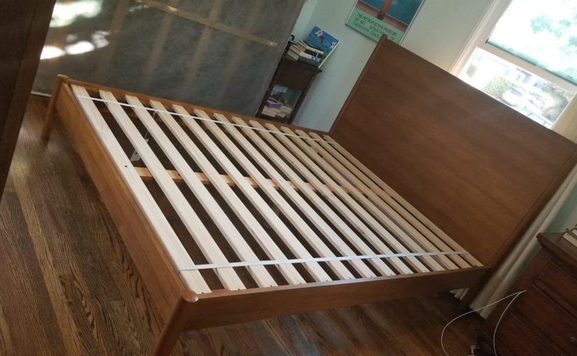 West Elm bed frame