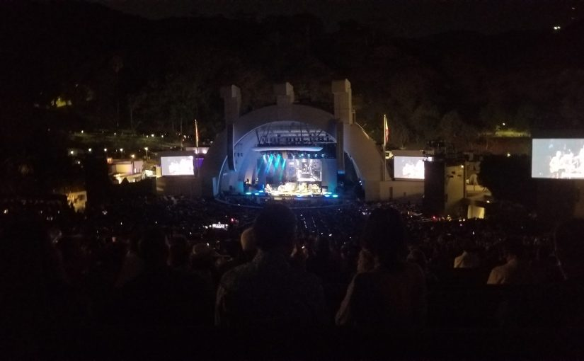 Hall & Oates Concert October 2021 featuring Squeeze at the Hollywood Bowl