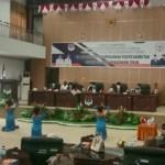 DPRD Boltim Gelar Paripurna Mendengarkan Pidato dan Sambutan Bupati