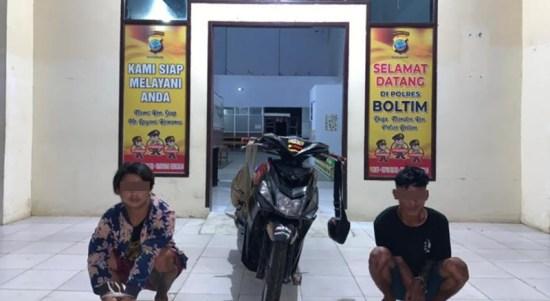 DPO Curanmor Berhasil Dibekuk Polres Boltim