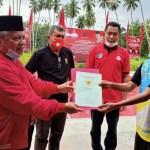 Ketua Fraksi PDI-P Bolmut, Serahkan Aset Pribadi Buat Masyarakat Soligir