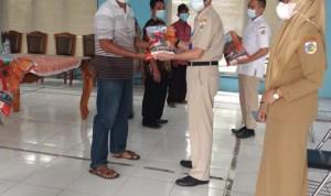 120 Poktan di Kotamobagu, Terima Bantuan Benih Jagung Unggul