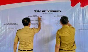 Pemkab Boltim Tanda Tangani Fakta Integritas WBK-WBBM