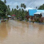 Pemkab Boltim Salurkan Bantuan pada Korban Banjir di Molobog