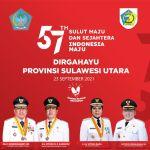 Tatong Bara: Selamat HUT ke–57 Tahun Provinsi Sulawesi Utara