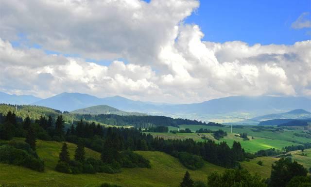Una din ultimele priveliști ale Slovaciei