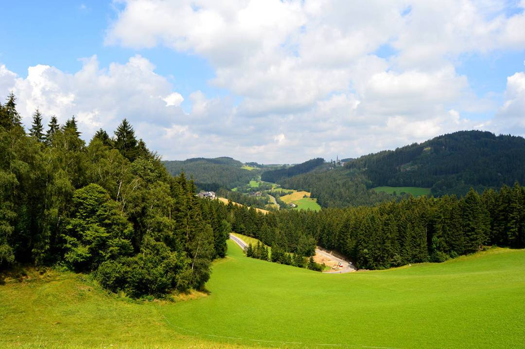 "Peisaj din ""muntii centrali"" ai Austriei"