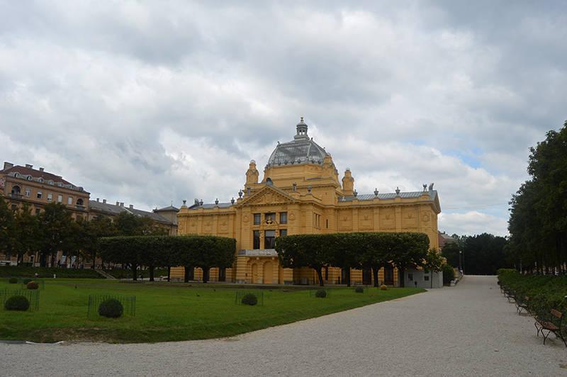 O cladire mai interesanta, Zagreb
