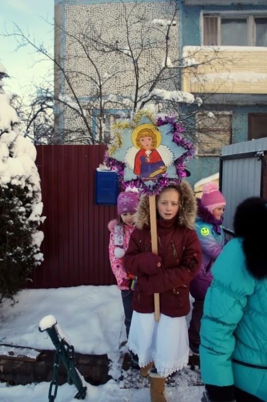 Рождество Христово на приходе Казанского храма деревни Богдановка