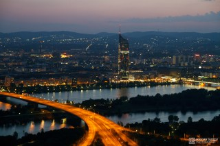 Vienna from Donauturm