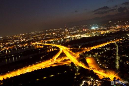 Vienna from Donauturm