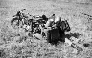 Danske Jensener kom i kamp 9 april 1940