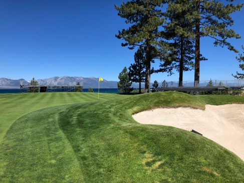 Another view of 16th green.
