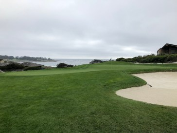 Side view of 5th green.
