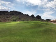 16th approach (more mounding).