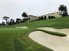 Closer view of 8th green.