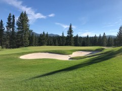 Side view of 6th green.
