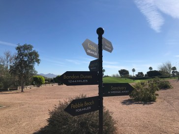 In case you need to know where you are in relation to other great golf destinations.