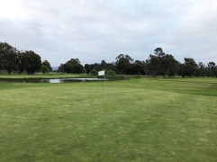 Behind 4th green with 5th green in background.