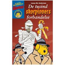 De tusind skorpioners forbandelse Book Cover
