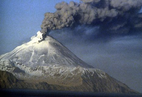 Mount Kanaga, the Aleutians, Alaska (source: Wikimedia Commons)