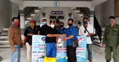 Giat Bhaksos DPC. IPJI Kabupaten Bogor Bersama Pemdes Petir