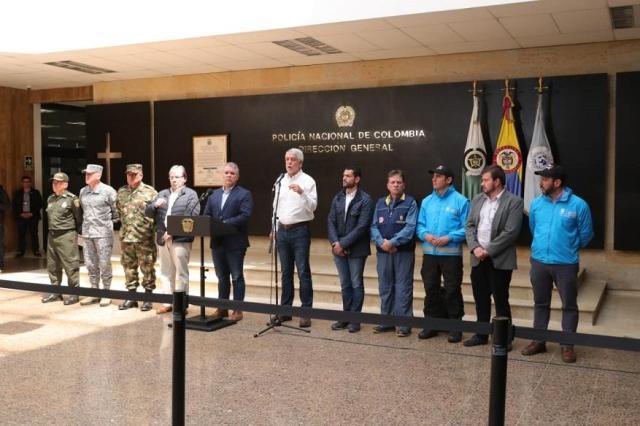 Alcalde Peñalosa llama a unión ciudadana contra la violencia - Foto: Comunicaciones Alcaldía de Bogotá / Diego Bauman