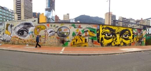 urban art in bogota colombia