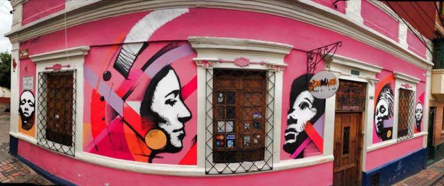 CRISP Bogota Graffiti Tour