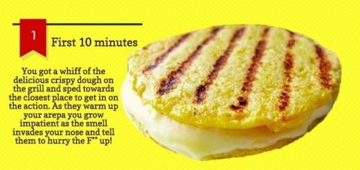 arepa de choclo typical colombian food
