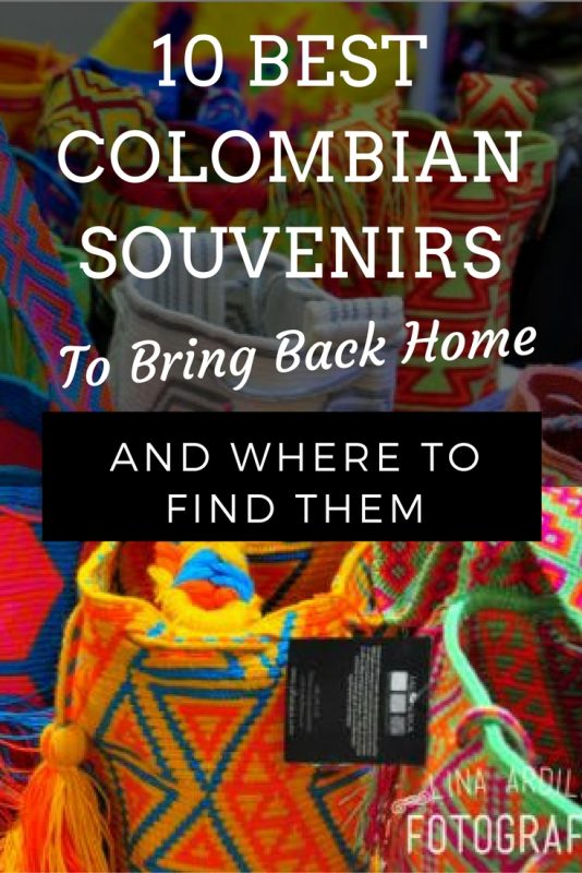 10 best COLOMBIan souvenirs gifts to bring back home