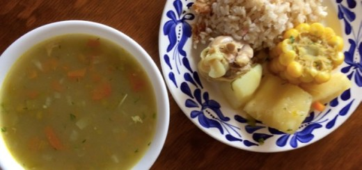 sancocho de pollo colombiano