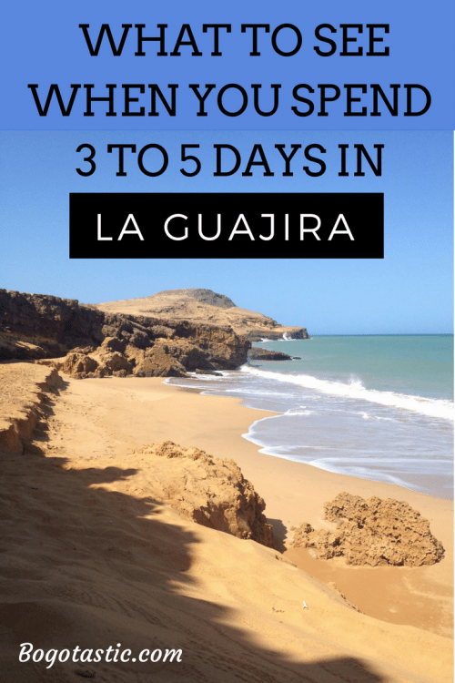 what to see in la guajira, colombia