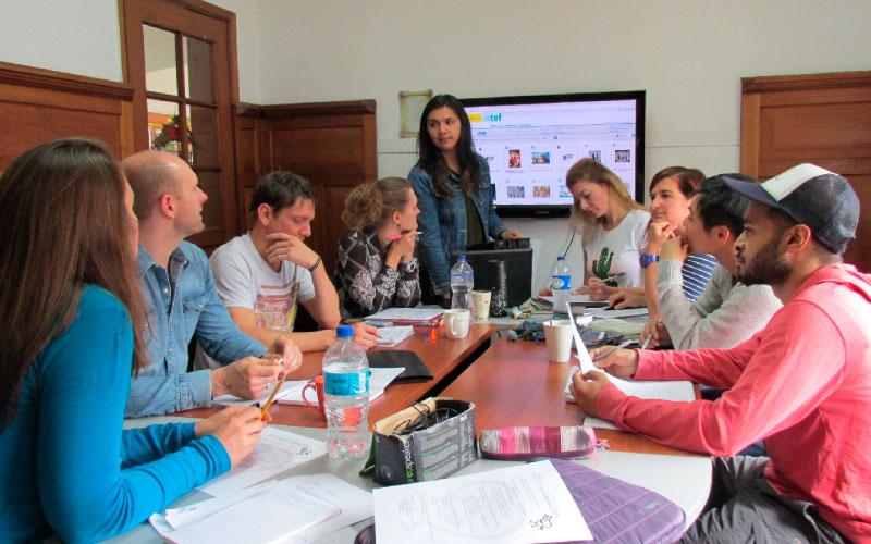 intensive spanish classes in Bogota