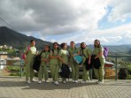 students from the local beauty school, south Bogota