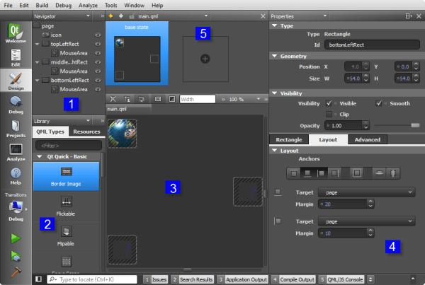 Qt5 Tutorial Creating QtQuick2 QML Application Animation B