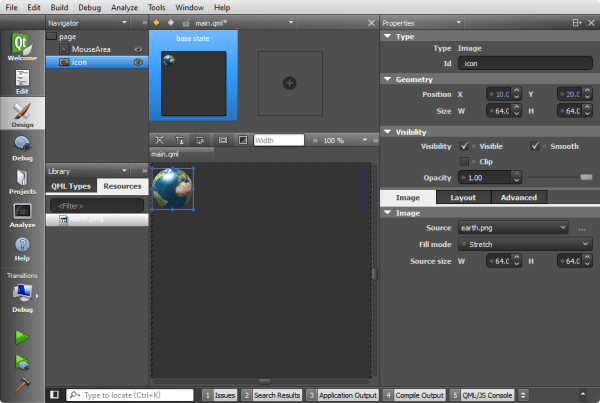 Qt5 Tutorial Creating QtQuick2 QML Application Animation A ...